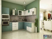 pigment Blue kitchen Design