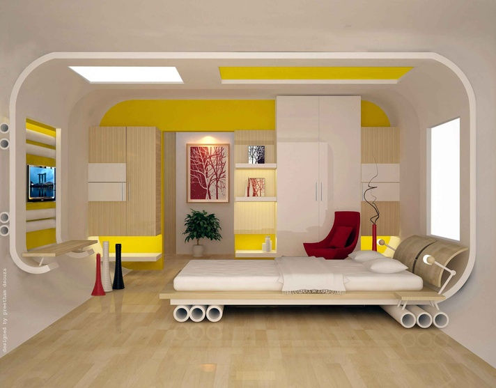 Bedroom Designs By Preetham Dsouza Interior Designer In Mangalore