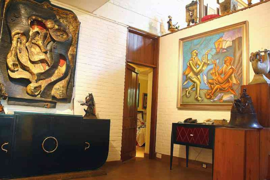 Padma Vibhushan Awardee Satish Gujral Explains His