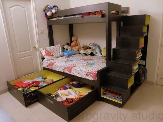 Kids room furniture ideas tips children s rooms for Children bedroom designs india