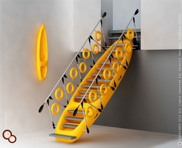 Kayak staircase Design