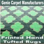 Printed Hand Tufted Rugs