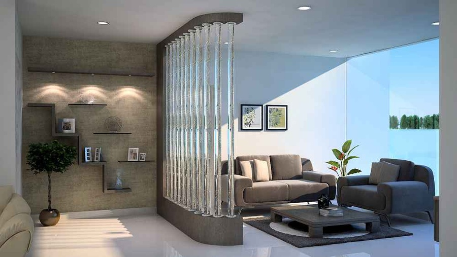 Living Room Divider Design Ideas, Hall Divider, Partition ...