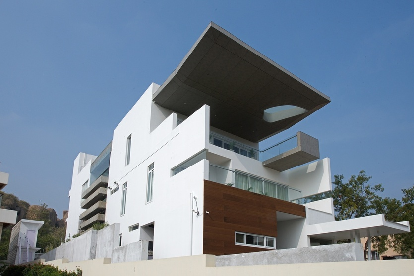 Architect niroop kumar reddy na architects hyderabad for Architecture design for home in hyderabad