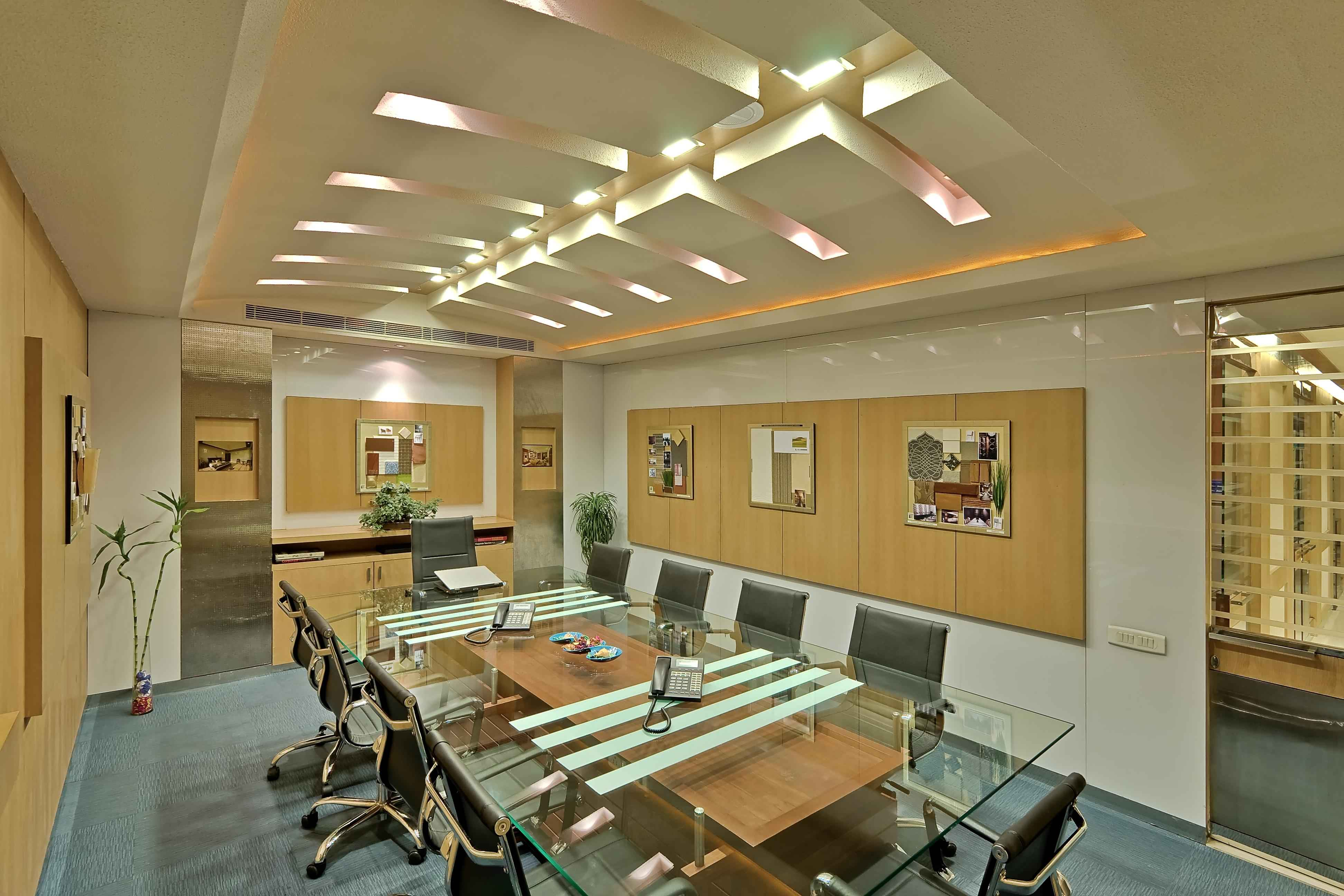 Corporate office interiors by n goyal associates for Corporate office interiors
