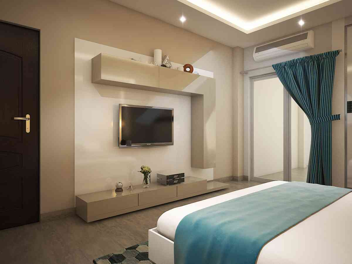 bedroom in the living room residential projects of rahul mehta zingyhomes 21905