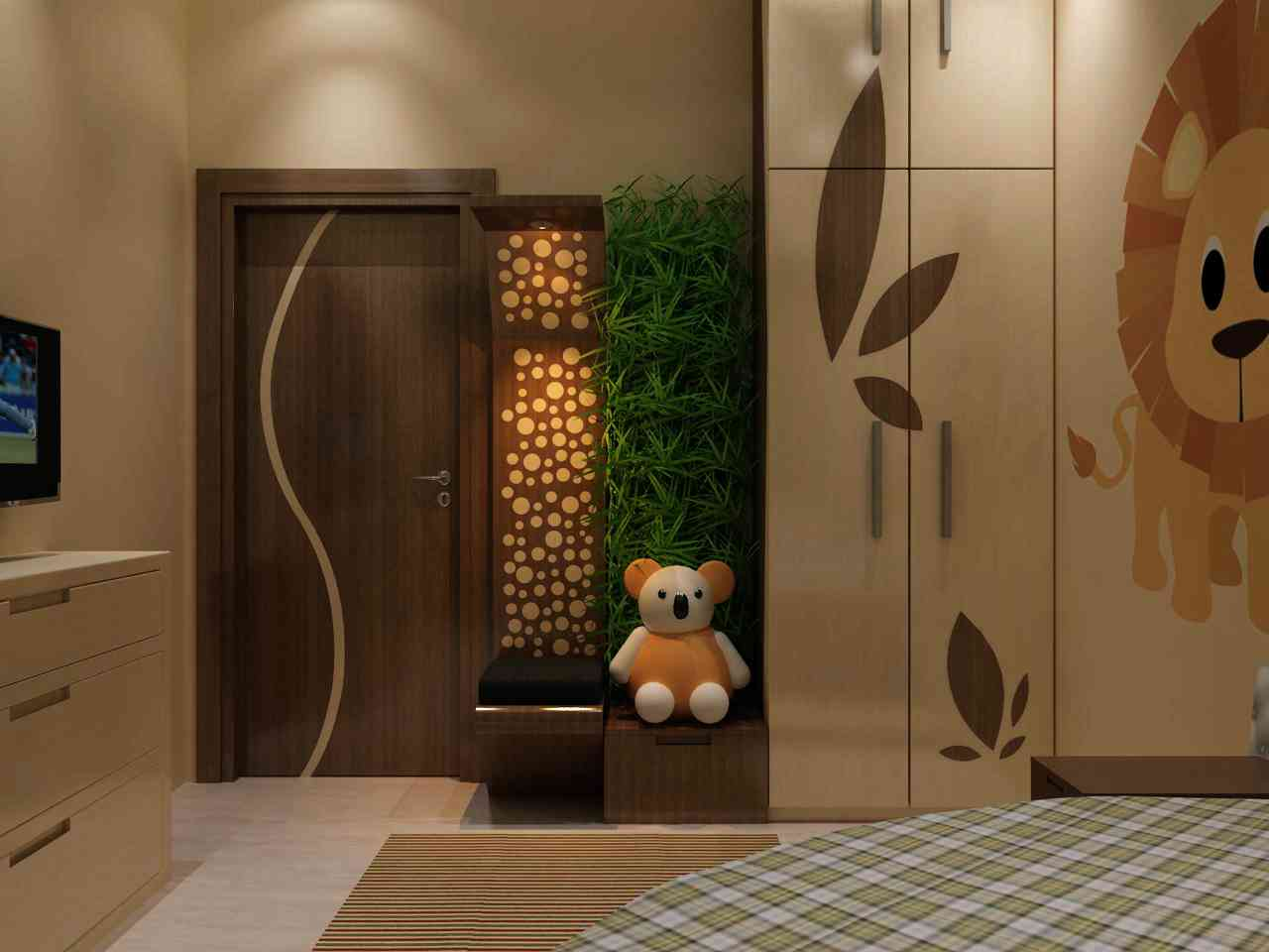 Door designs for bedrooms indian bedroom door design ideas for Entrance door design for flats