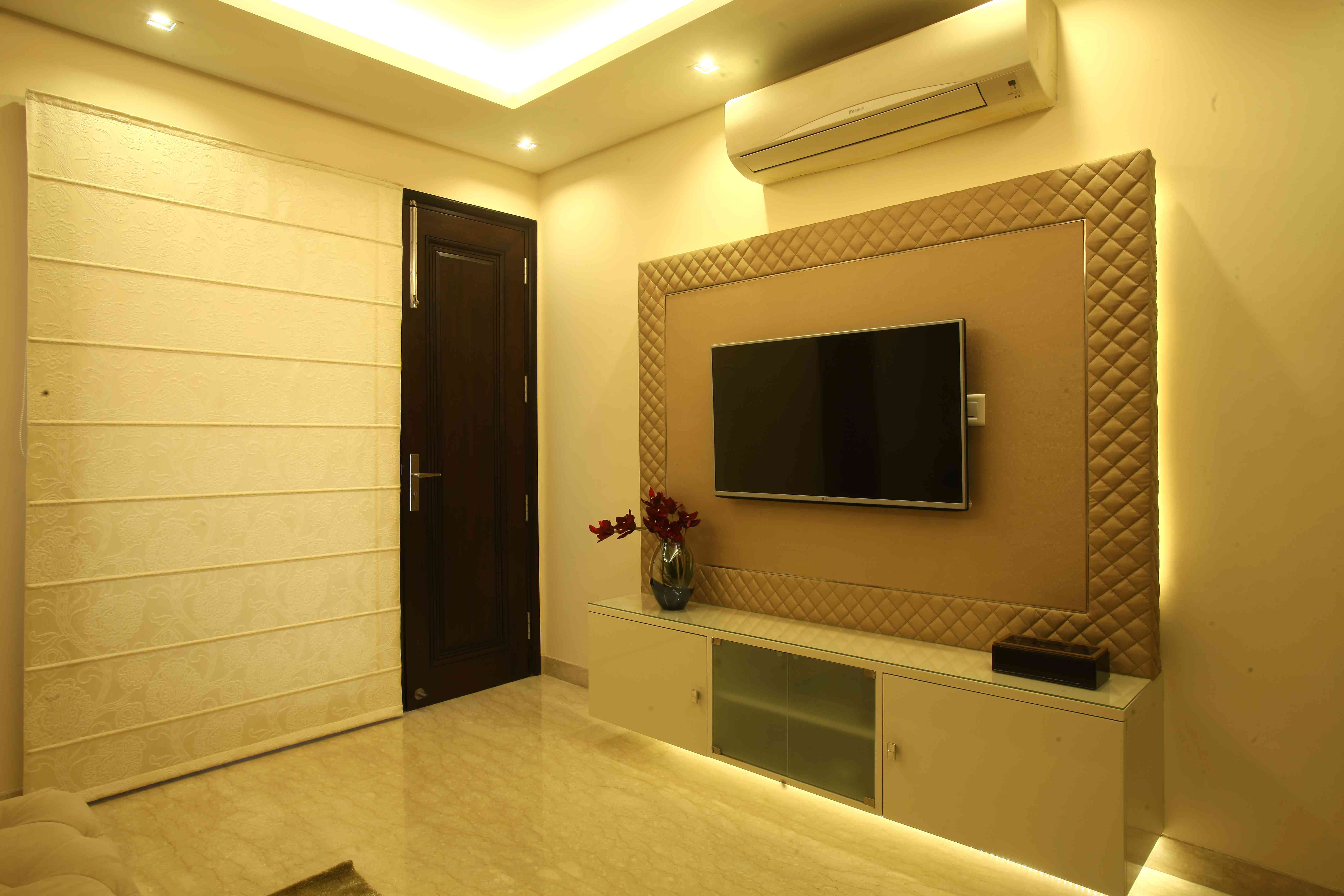 Pin By Prachi Sankhla On Tv Unit Pinterest Tv Unit Ceilings  # Niche Television En Platre