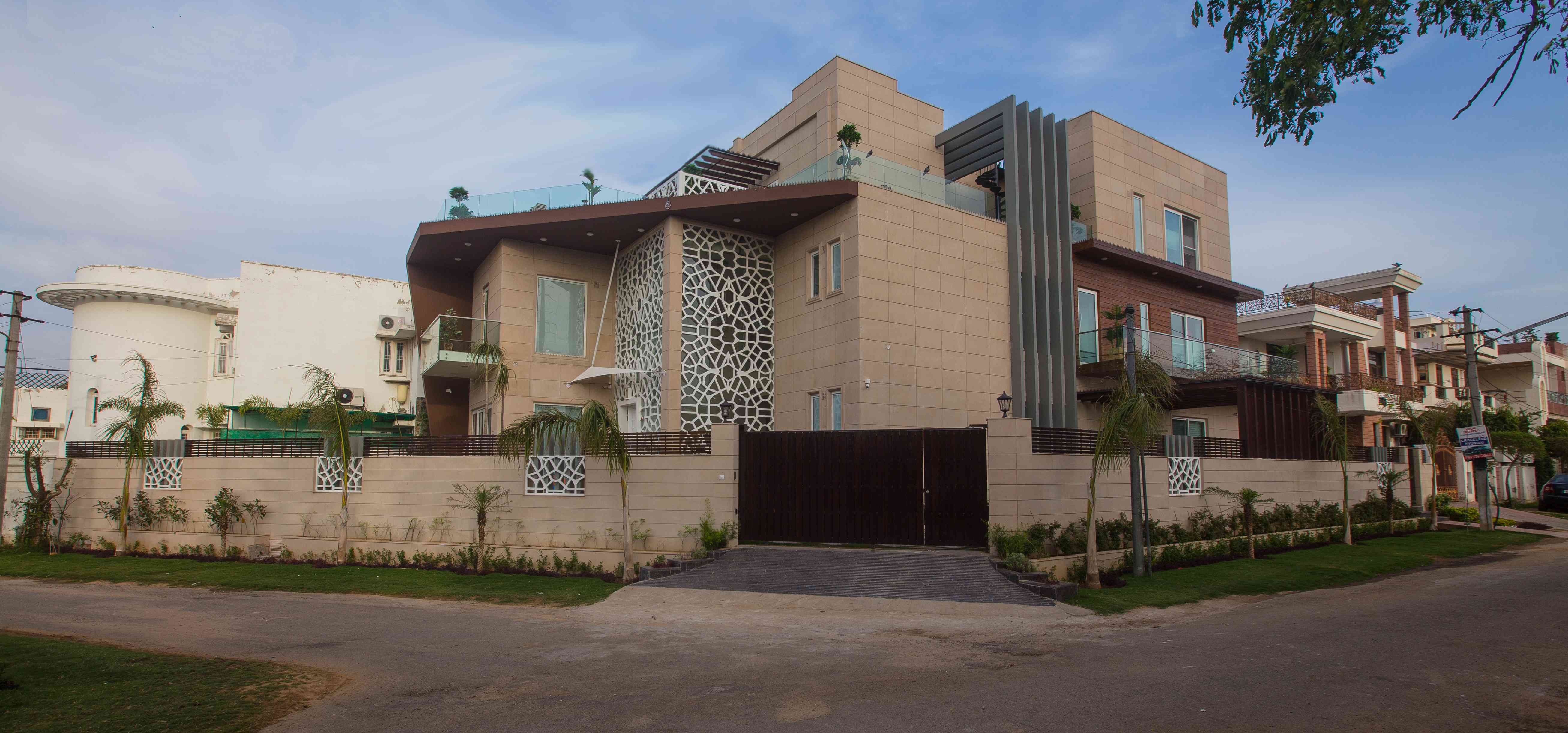 House design jaipur - Click On The Link Below For View More Design Photos Http Www Zingyhomes Com Project Detail Manool Chaudhary_28849 Jaipur Bunglow