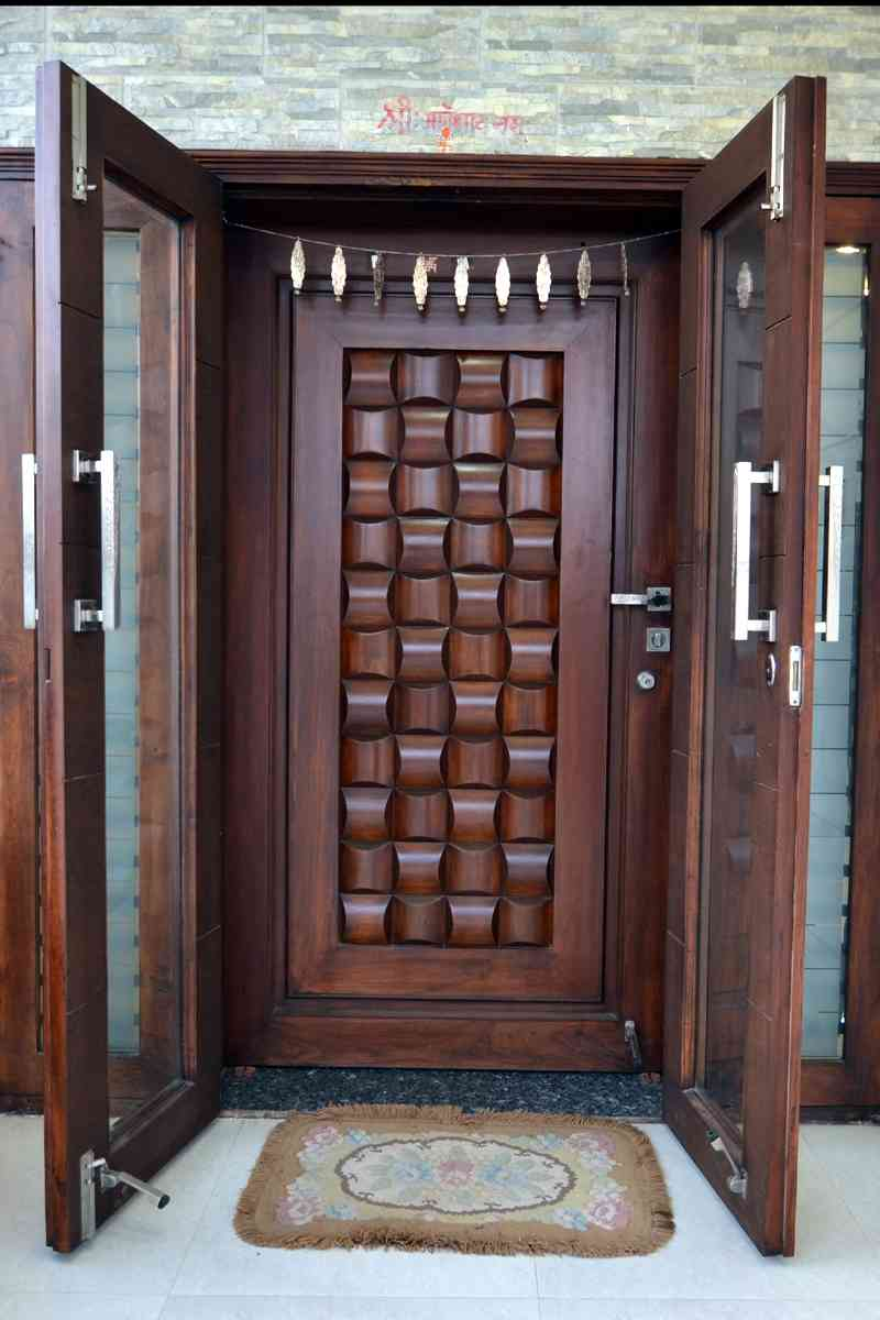 Indian wooden front door designs - Indian home front door design ...