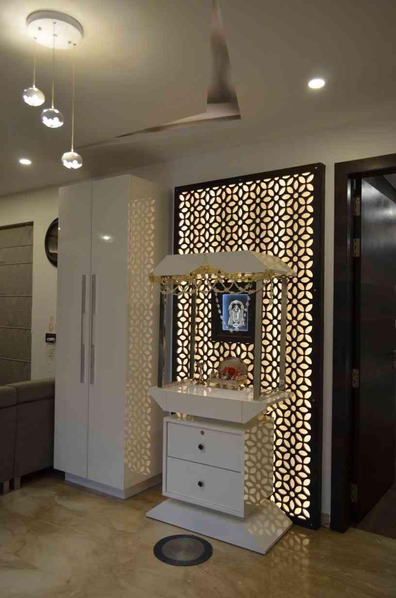 Mandir Designs In Living Room Mandir Interior Design Inspiration