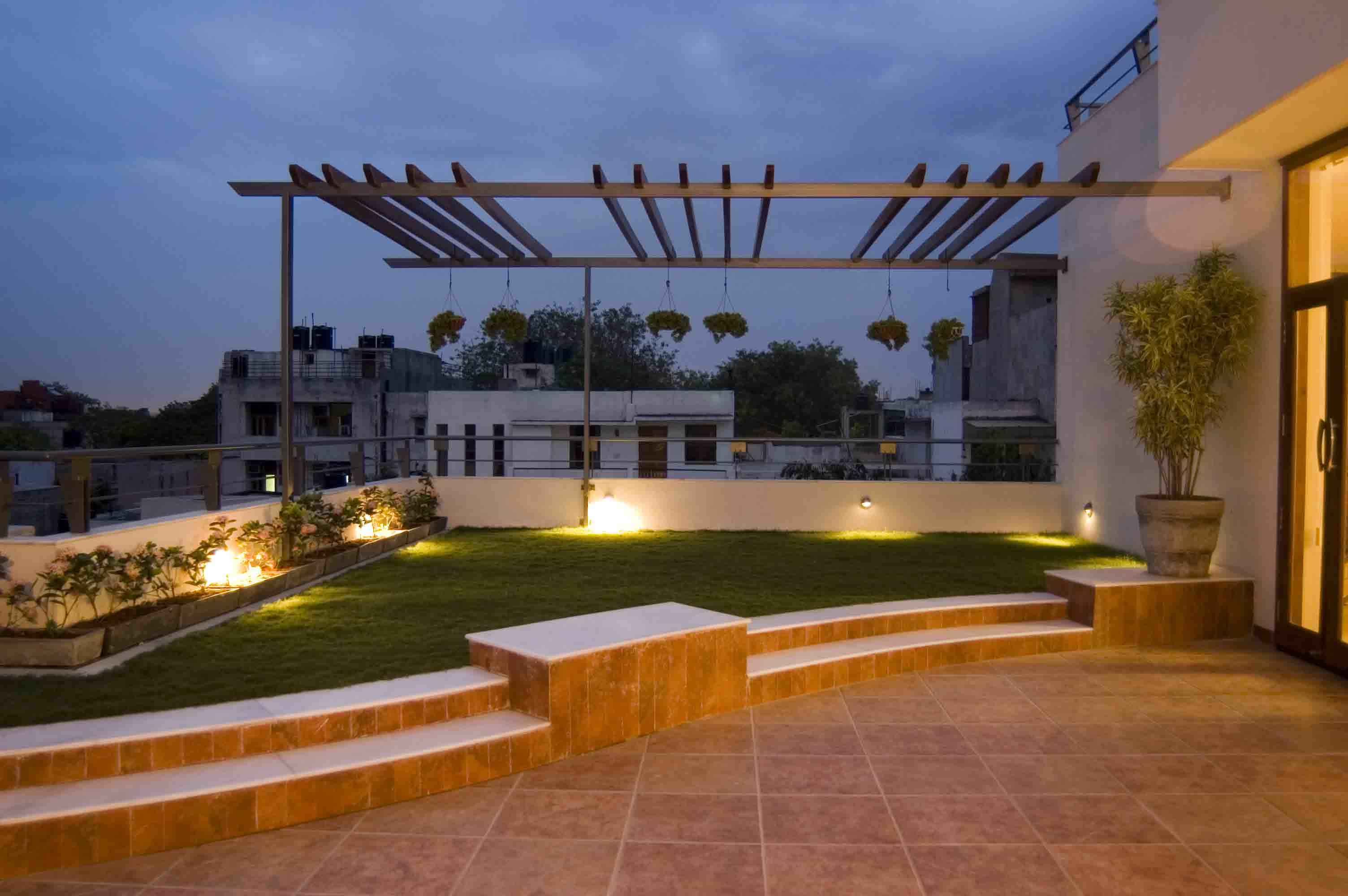 Terrace design ideas small large terrace designs home plans for Terrace design india