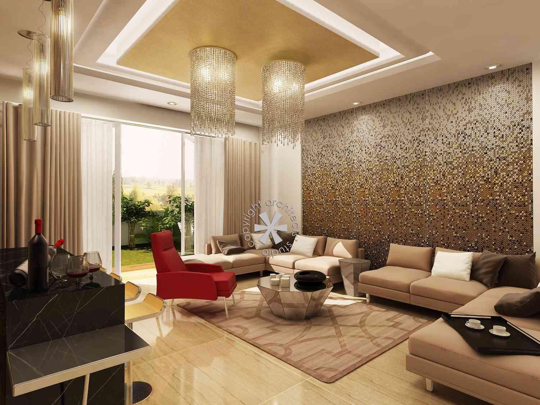 Mandir Designs In Living Room Villa Design Interior Design Inspiration