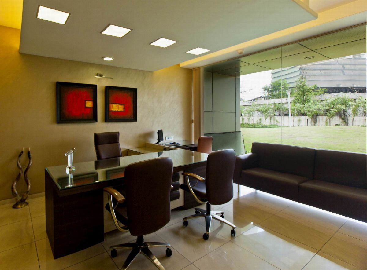 Office interior designs photo gallery images design for Office cabin interior