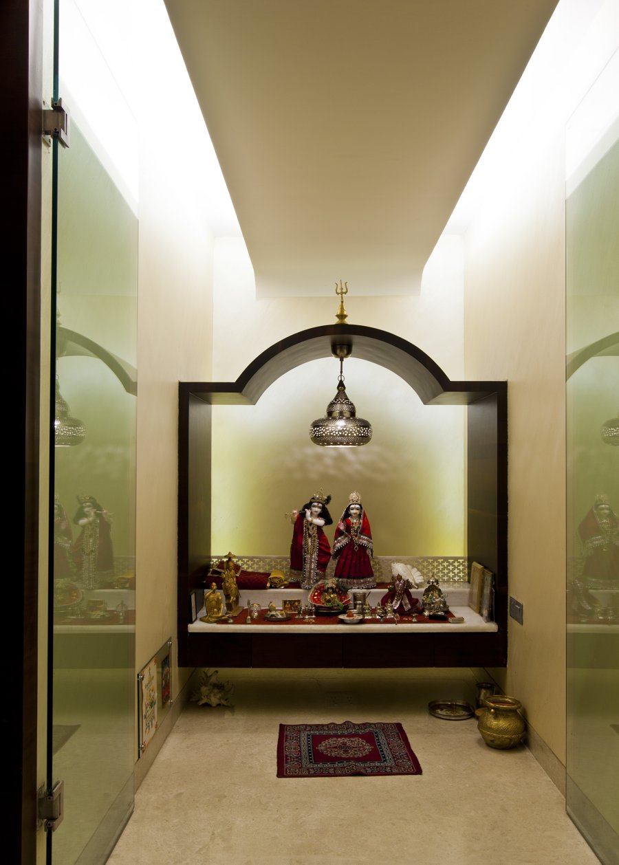 Pooja Room Pooja Room Design By Architect Rajesh Patel. Colour