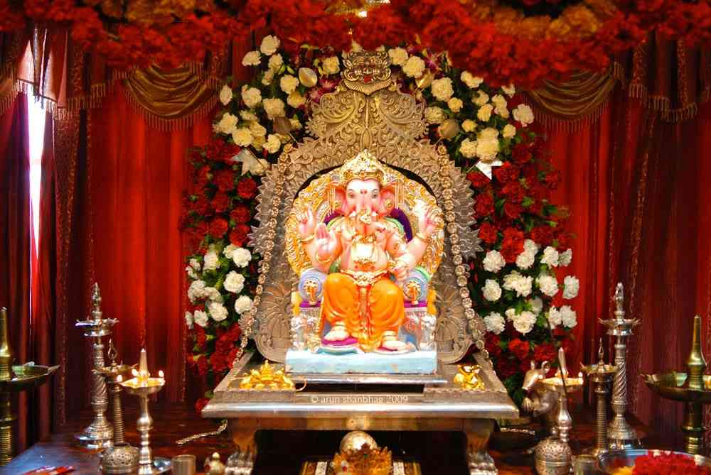 Ganesh Chaturthi Decoration Ideas Tips Photos Pictures Decor Theme 2015