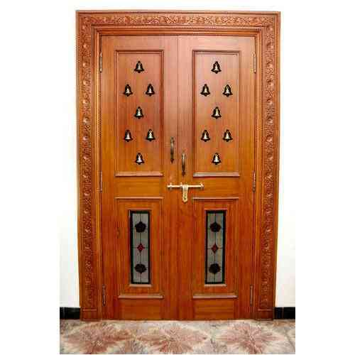 Pooja room door design photos pictures door designs for for Simple room door design